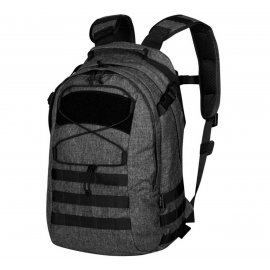 plecak Helikon EDC - Nylon Poliester Blend - Czarny/Szary Melanż