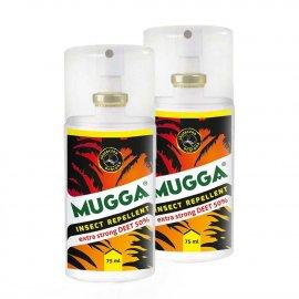 Zestaw 2szt - Repelent Środek na komary kleszcze i inne owady, Mugga STRONG spray , 50% DEET