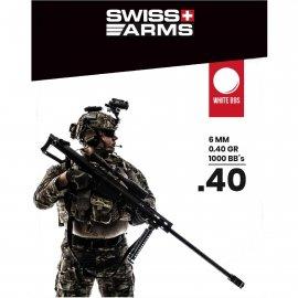 Kulki Cybergun SWISS ARMS Białe 0.40gr 1000szt