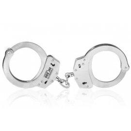 Kajdanki stalowe, łańcuszkowe - niklowane Perfecta HC200