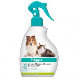 HAPPS - płyn na kleszcze i komary dla zwierząt 200ml