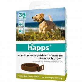 HAPPS - obroża przeciw pchłom i kleszczom dla małych psów