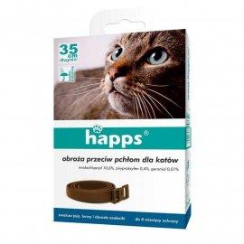 HAPPS - obroża przeciw pchłom dla kotów