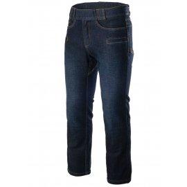 spodnie Helikon Greyman Tactical Jeans Slim Denim Mid - Niebieskie