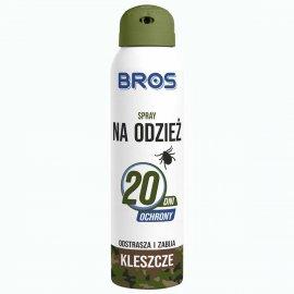 BROS - spray na odzież - odstrasza i zabija kleszcze