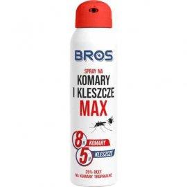 BROS - spray na komary i kleszcze MAX 90ml