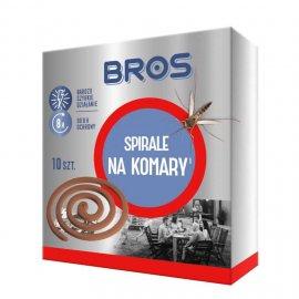 BROS - spirale na komary 10szt
