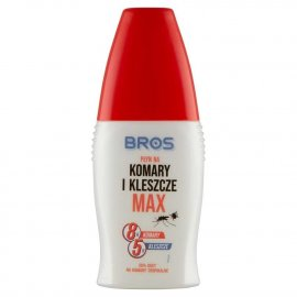 BROS - płyn na komary i kleszcze MAX 50ml