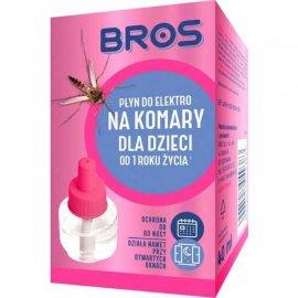 BROS - płyn do elektro na komary dla dzieci od 1 r