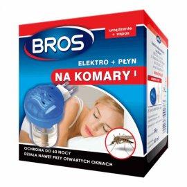 BROS - elektro + płyn na komary 60 nocy + 10 wkładów GRATIS!