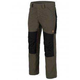 spodnie Helikon Woodsman - Zielone/Czarne