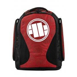Plecak treningowy duży Pit Bull Logo '21 - Czerwony
