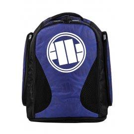 Plecak treningowy duży Pit Bull Logo '21 - Niebieski