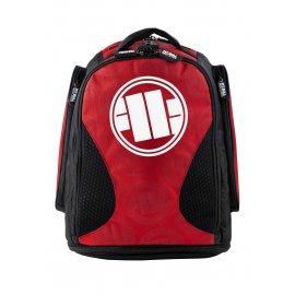 Plecak treningowy średni Pit Bull Logo '21 - Czerwony