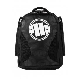 Plecak treningowy średni Pit Bull Logo '21 - Czarny