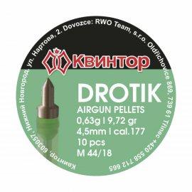 Śrut Kvintor 4,50mm Drotik 10 szt