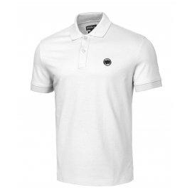 Koszulka Polo Pit Bull Regular Logo II '21 - Biała
