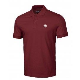 Koszulka Polo Pit Bull Regular Logo II '21 - Bordowa