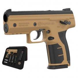 Pistolet RAM na kule gumowe Byrna HD kal.68 CO2 Tan