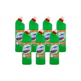 Płyn do WC Domestos Pine 750 ml [ZESTAW 7 szt.]