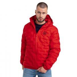 Kurtka zimowa z kapturem Pit Bull Firestone '21 - Czerwona