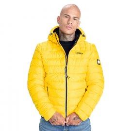 Kurtka z kapturem Pit Bull Seacoast II '21 - Żółta