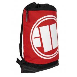 Worek sportowy Pit Bull Logo '21 - Czarny/Czerwony