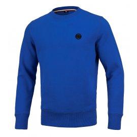 Bluza Pit Bull Small Logo '21 - Niebieska