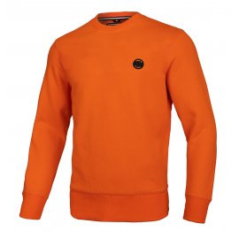 Bluza Pit Bull Small Logo '21 - Pomarańczowa