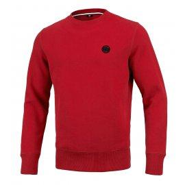 Bluza Pit Bull Small Logo '21 - Czerwona