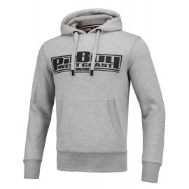 Bluza z kapturem Pit Bull Classic Boxing 2 '21 - Szara