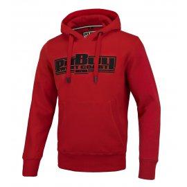 Bluza z kapturem Pit Bull Classic Boxing 2 '21 - Czerwona