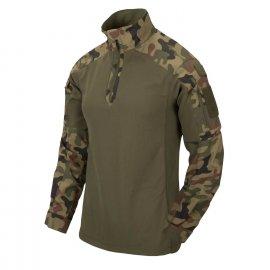 Bluza Helikon MCDU Combat Shirt NyCo Ripstop PL Woodland