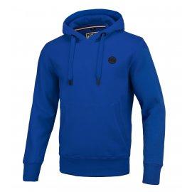 Bluza z kapturem Pit Bull Small Logo '21 - Niebieska