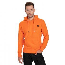 Bluza z kapturem Pit Bull Small Logo '21 - Pomarańczowa