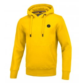 Bluza z kapturem Pit Bull Small Logo '21 - Żółta