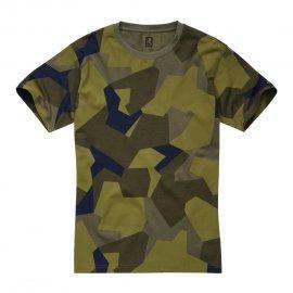 Dziecięcy T-Shirt Brandit Swedish camo