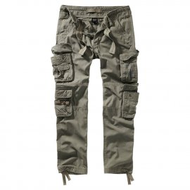 Spodnie BRANDIT Pure Slim Fit Olive