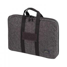 pokrowiec Helikon Double Pistol Wallet Nylon Melange Black-Grey