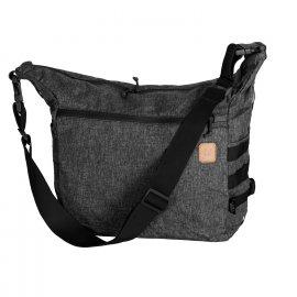 torba Helikon Bushcraft Satchel Nylon Polyester Blend - Melange Black-Grey