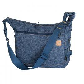 torba Helikon Bushcraft Satchel Nylon Polyester Blend - Melange Blue