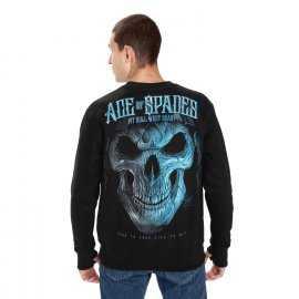 Bluza Pit Bull Blue Skull '21 - Czarna