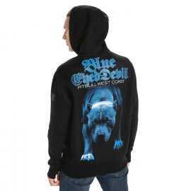 Bluza z kapturem Pit Bull Blue Eyed Devil '21 - Czarna