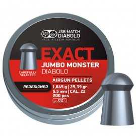 Śrut JSB 5,52mm Exact Jumbo Monster Redesigned 200
