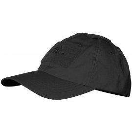 czapka Helikon Baseball Cotton ripstop czarna