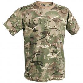 T-shirt Helikon cotton MP camo