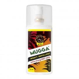 Repelent Środek na komary kleszcze i inne owady, Mugga STRONG spray , 50% DEET