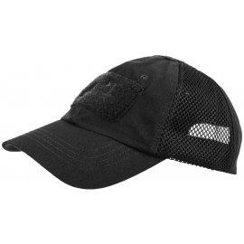 czapka Helikon Baseball VENT PolyCotton ripstop czarna