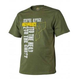 t-shirt Helikon Travel Advice Mozambique us green