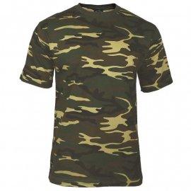 t-shirt Mil-Tec Tarn us woodland
